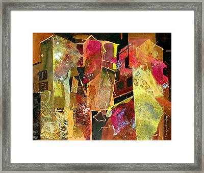 City Colors Framed Print