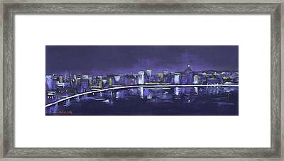 City Dreams Framed Print