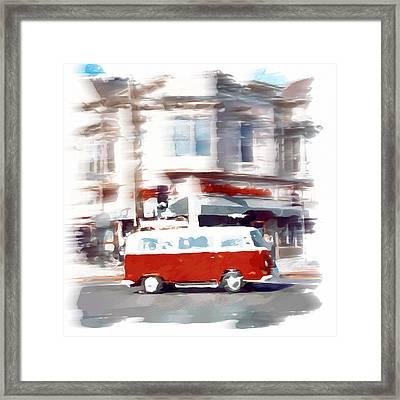 City Drive Framed Print by Yury Malkov