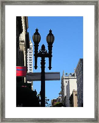 Framed Print featuring the photograph City by Fanny Diaz