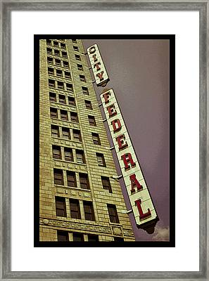 City Federal Poster Framed Print