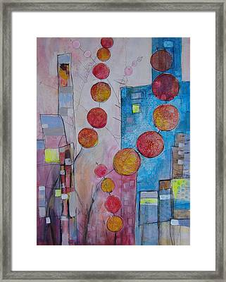 City Festival Framed Print
