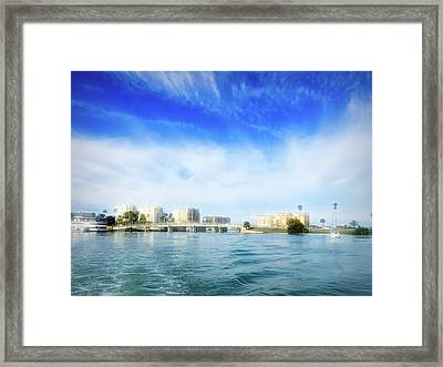 City Flare Clearwater Florida Framed Print by Aimee L Maher Photography and Art Visit ALMGallerydotcom