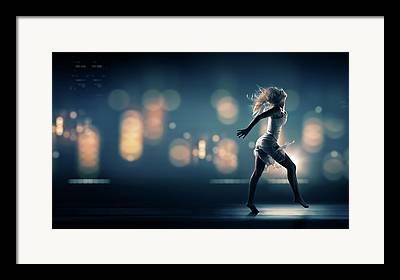 Chaos Light Framed Prints