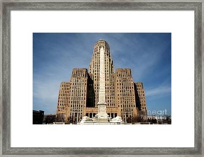 City Hall Framed Print by Daniel J Ruggiero