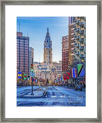 City Hall From The Parkway Framed Print