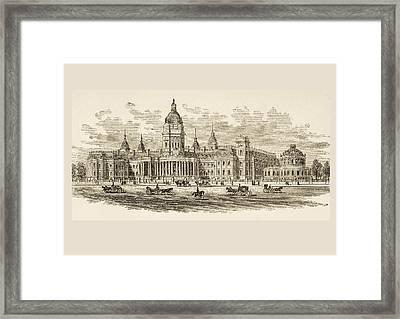 City Hall In San Francisco, California Framed Print