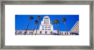 City Hall, Los Angeles, California Framed Print