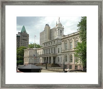 City Hall Manhattan Framed Print