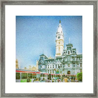 City Hall Framed Print by Marvin Spates