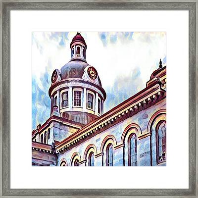 City Hall Framed Print