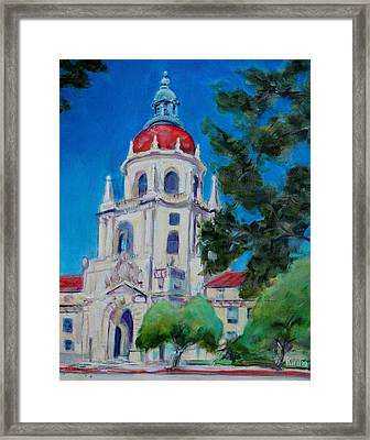 City Hall Framed Print by Richard  Willson