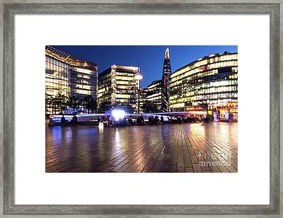 City Hall Square Framed Print by Svetlana Sewell