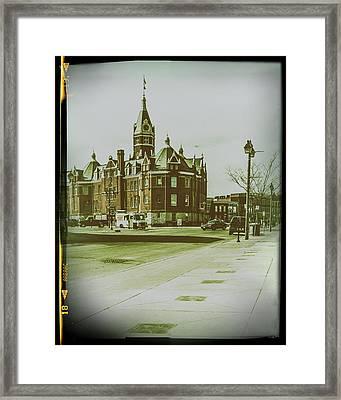 City Hall, Stratford Framed Print