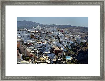 City Heights. Framed Print by Terence Davis