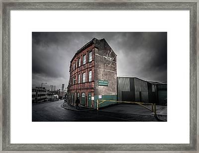 City Industry Framed Print