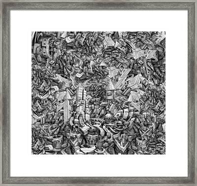 City Infinity Framed Print