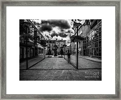 City Jumps Framed Print