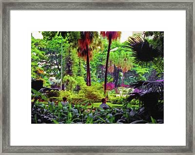 City Jungle 2 Framed Print by Steve Ohlsen