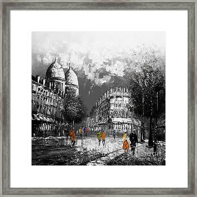 City Landcape Framed Print