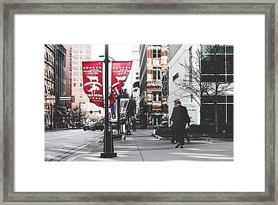 City Life  Framed Print by Jose Garcia