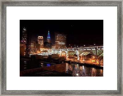 City Light City Nights Framed Print by Mahalograph                                        Photography