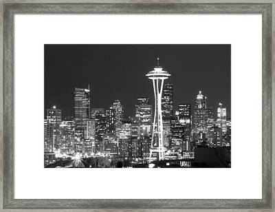 City Lights 1 Framed Print by John Gusky