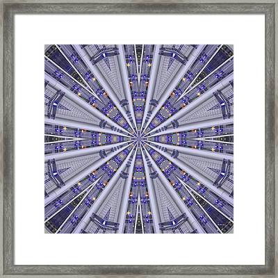 City Lights 1649 Framed Print