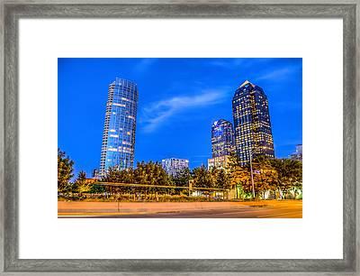 City Lights Framed Print by Dado Molina