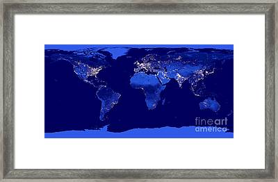 City Lights  Framed Print by Jon Neidert