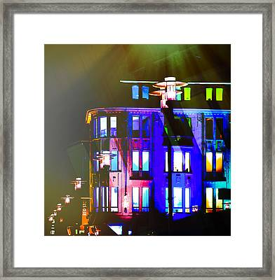 City Lights Mood Framed Print by Nicole Frischlich