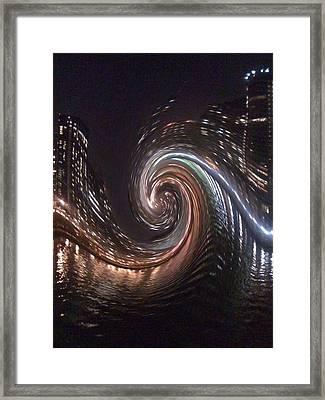 City Lights  Framed Print by Sherri's Of Palm Springs