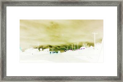 City Limits Framed Print by Max Mullins