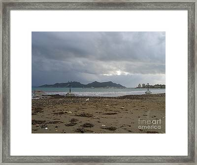 City Lost To The Sea Framed Print by Clay Cofer