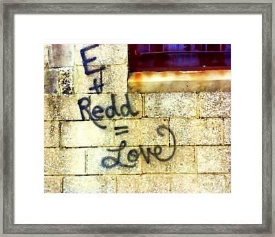 City Love Framed Print