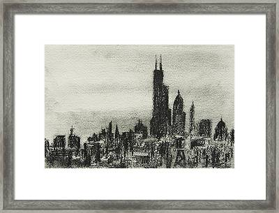 City Love I Framed Print by Rachel Christine Nowicki