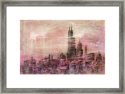 City Love Framed Print