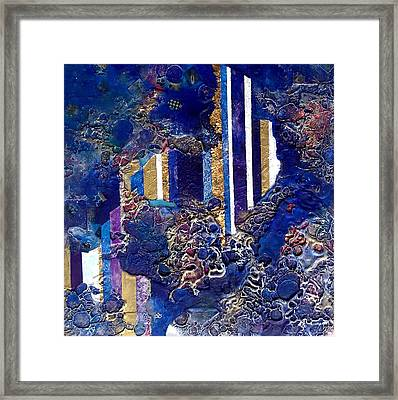 City Mirage Framed Print by Lynda Stevens