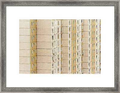 City Monotony Framed Print by Stelios Kleanthous