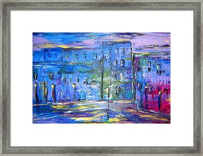 City Mouse Framed Print