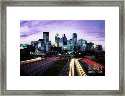 Framed Print featuring the photograph City Moves by Scott Kemper