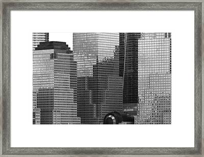 City - Ny - Brookfield Place Framed Print by Mike Savad