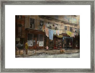City - Ny - Elegant Apartments - 1912 Framed Print