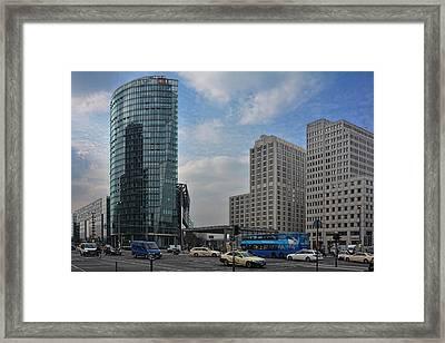City Of Berlin Framed Print by Joachim G Pinkawa