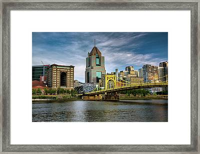 City Of Bridges Framed Print by Rick Berk