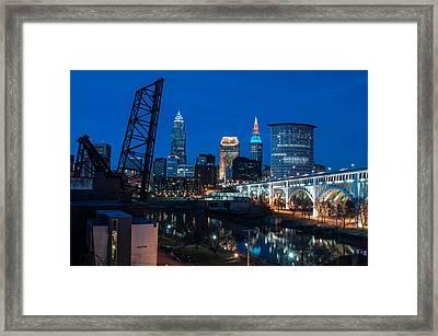 City Of Bridges Framed Print