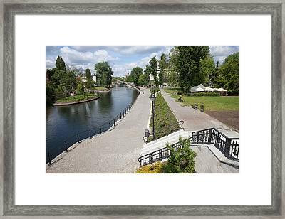 City Of Bydgoszcz In Poland Framed Print