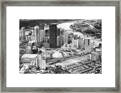 City Of Champions Framed Print