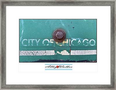 City Of Chi 1 Framed Print