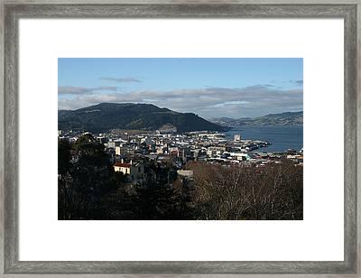 City Of Dunedin From Unity Park Framed Print